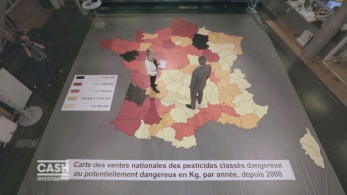 La Gironde très exposée aux pesticides